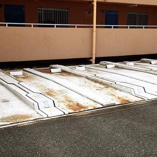 機械駐車場塗装工事